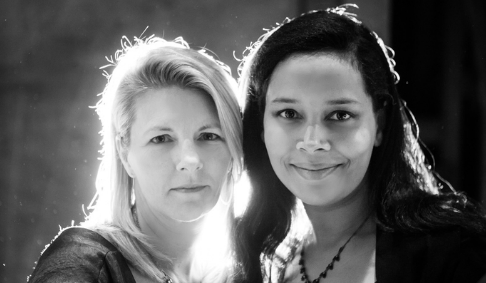 Laurelyn Dossett and Rhiannon Giddens